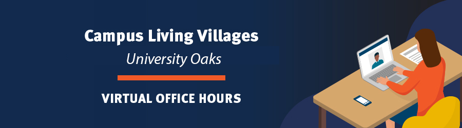 University Oaks virtual office hours